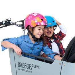 Babboe bicycle helmets