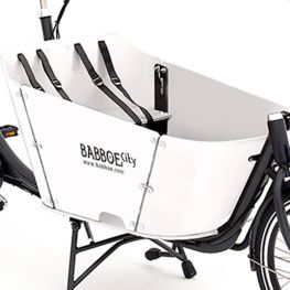 Babboe wood package City white