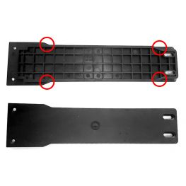 Babboe battery rail luggage carrier QWIC