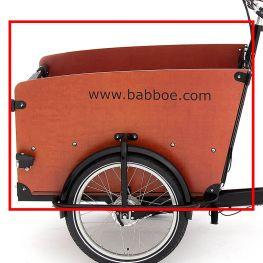 Babboe side panel left