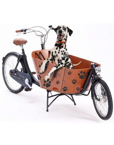 Babboe cargo bike stickers dog paws