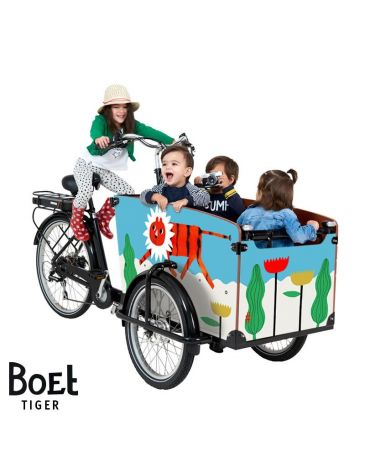 Babboe BOET cargo bike stickers Big