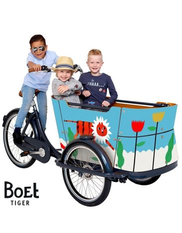 Babboe BOET cargo bike stickers Curve