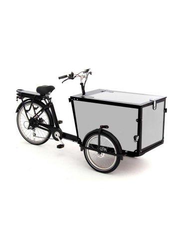 Babboe cargo bike stickers Pro Trike black - 4 sides + lid