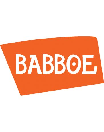 Babboe rear mudguard stay silver