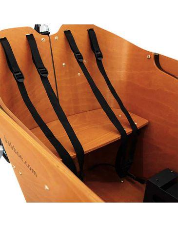 Babboe bench wood